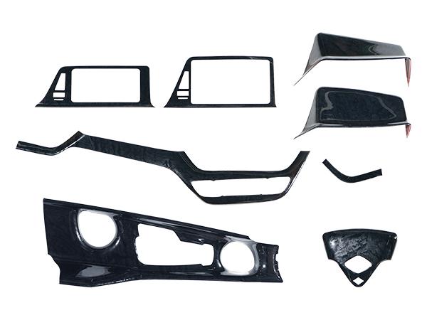 車種別専用設計で トヨタ C-HR ZYX10 贈答品 NGX50 インテリアパネル 黒木目調 H28.12~ ついに入荷 8P
