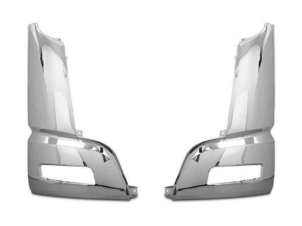 スーパーグレート メッキ コーナーパネル 左右セット H19.4~H29.4