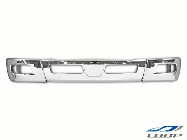 三菱ふそう トラック パーツ ブルーテックキャンター FBA FEA/B/C ワイドボディ用 メッキフロントバンパー メッキサイドバンパー セット H22.11~(SE60-2)