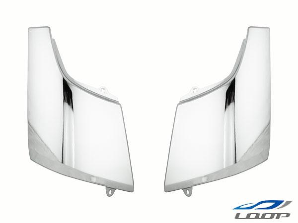 三菱ふそう トラック パーツ ジェネレーションキャンター メッキコーナーパネル スチール製 H14.7~H22.10