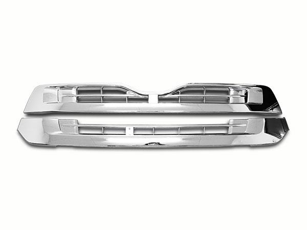 日産UD クオン メッキ フロントグリル アッパーグリル ロアグリル セット H17.1~H29.3