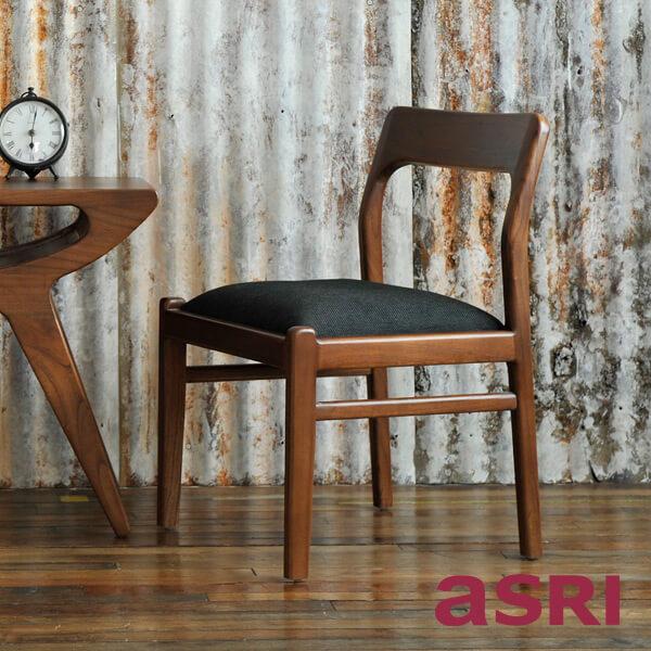 アスリー Chill Chair チル・ダイニングチェア 北欧家具 アジアンモダン アジアン家具 木製 北欧モダン インテリア リゾート 家具 天然木 loop ループ TBCH-15