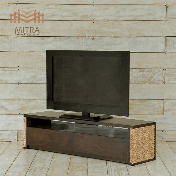 ウォーターヒヤシンス テレビボード/ W150cm [MITRA ミトラ] 【LHTV04-W150】 セミオーダー対応