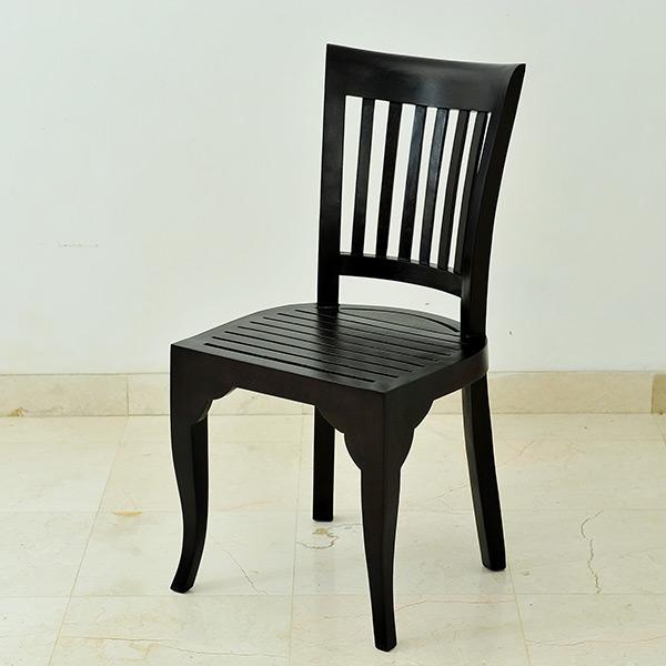 【セール】背中をふんわり優しく包み込む。チーク無垢材のヨーロピアンチェア(バリ家具 リゾート チーク無垢材 レザー 皮貼り おしゃれ ダイニングチェア 木製 インテリア ループ チェアー チェア モダン 椅子 loop アジアン アジアン家具 ウッドチェア イス)【A-067-A】