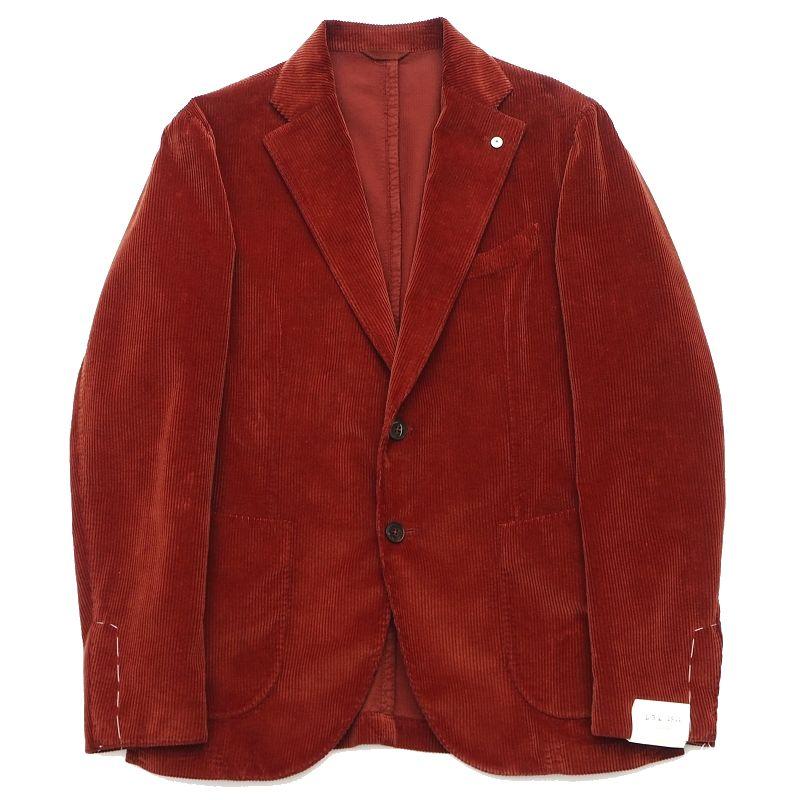 新品 L.B.M.1911 コーデュロイ ジャケット サイズ:46 人気ブレゼント! ブリック 期間限定お試し価格 エルビーエム1911 HM SYM 5WHC FJAN13 A02178 メンズ