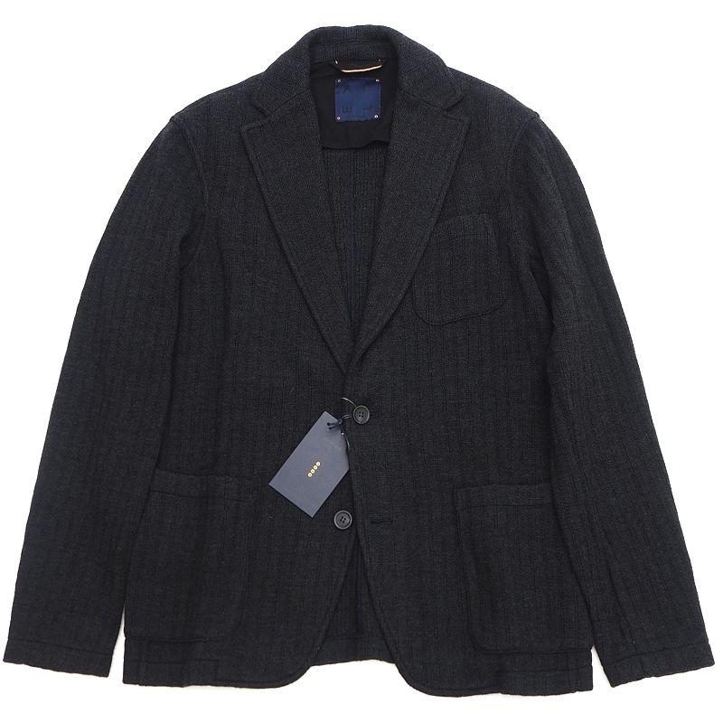 新品 卸直営 ALTEA 直輸入品激安 COPPER ニットジャケット サイズ:S チャコール ストレッチ入り FJAN14 メンズ A02191 アルテア 5D1 SYM