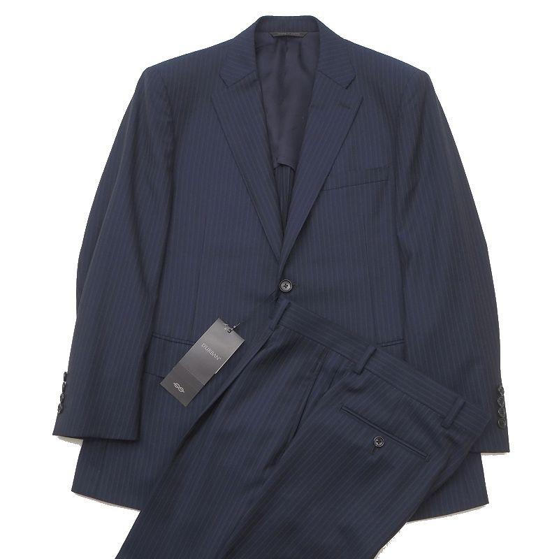 新品 D'URBAN ダーバン スーツ AB4 ネイビー 定価143000円 ロロピアーナ生地 メンズ 5WHA/B01393/AFEB24/【bzbnr】