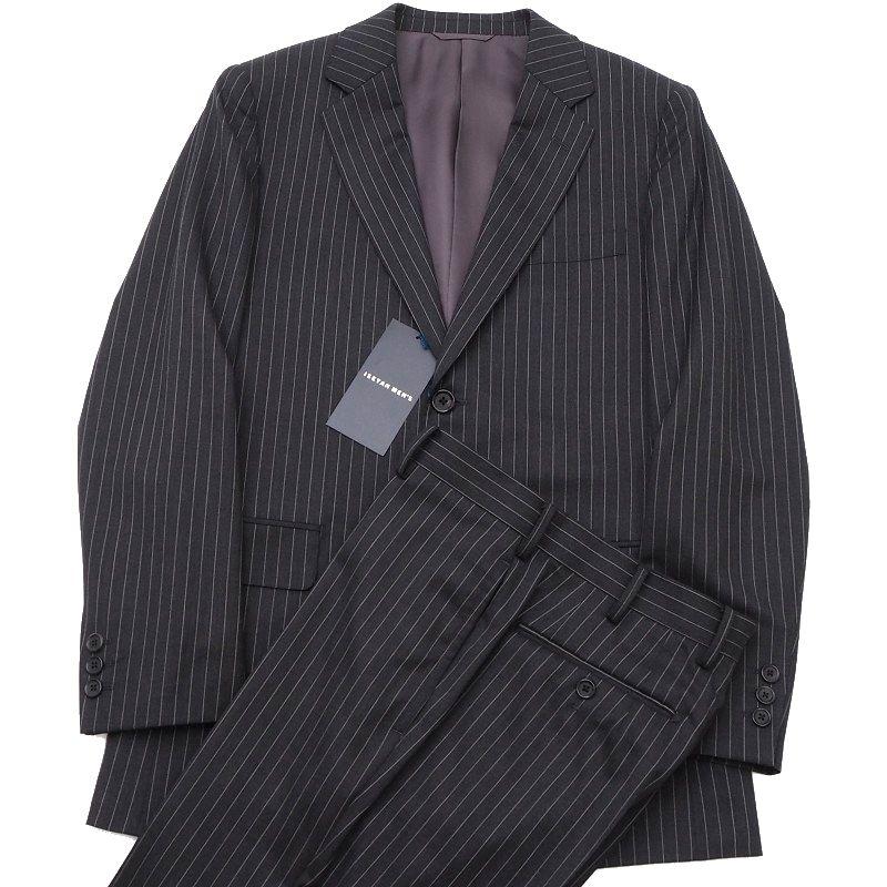 新品 ISETAN MEN'S 伊勢丹メンズ スーツ 44D7 チャコール ストライプ柄 5WHD/C01236/AMAR20/【bzbnr】