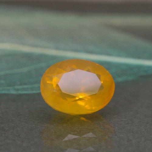 オレゴンオパール4.35ct Bf-0087R 蛋白石 コモン ガラス光沢 透明石 ルース 稀少石 レアストーン 天然石 カット石