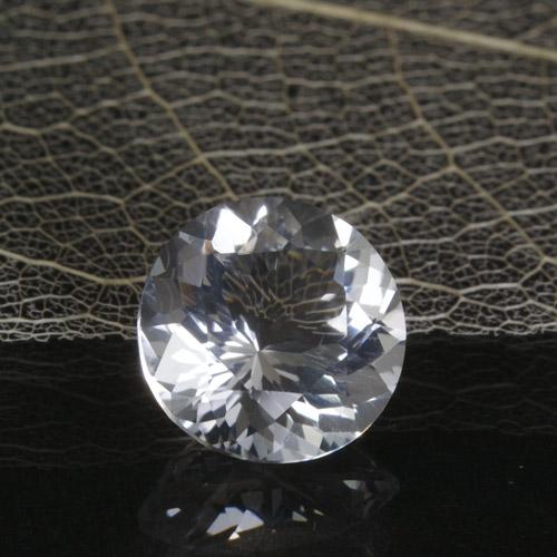 ペタライト3.58ct Bf-1665R レア ルース 稀少石 リチウム 材料 天然石 カット石 無色 透明 宝石質