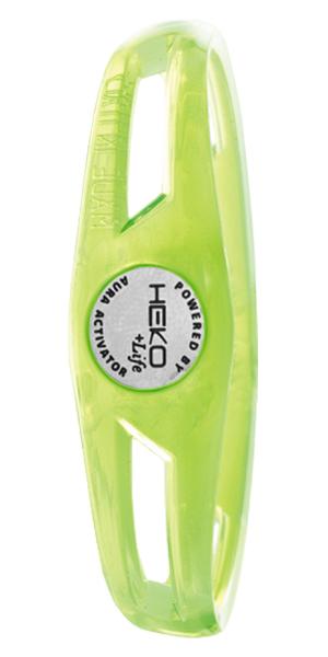 スーパーSALE限定 HEKO ITALY Life 気質アップ エコイタリープラスライフ AURA ACTIVATOR アウラ サンダー ブレスレット 無料サンプルOK グリーン THUNDER 国内正規品 アクティベーター HB5010GR