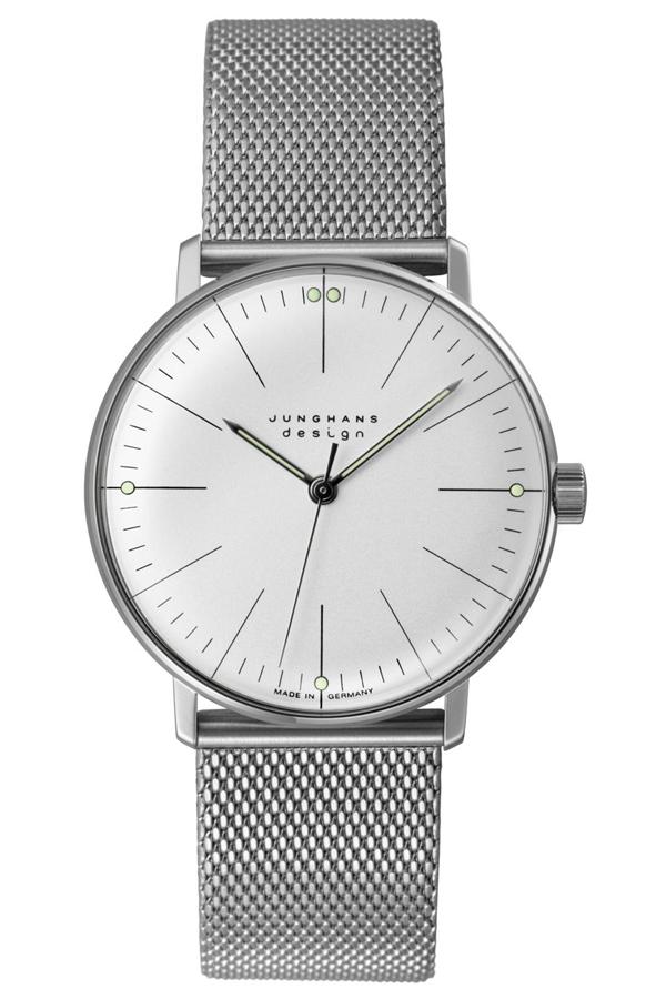 ユンハンス マックスビル Max Bill by Junghans Handwind ハンドワインド 腕時計 機械式 手巻き 027 3004 44 M 安心の国内正規品 代引手数料無料 送料無料