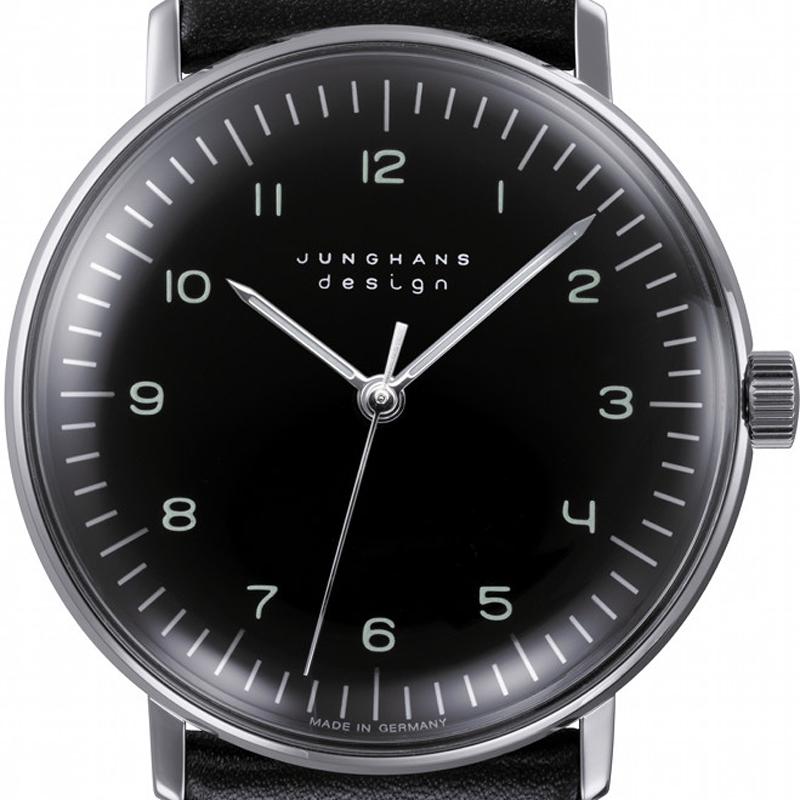 ユンハンス マックスビル Max Bill by Junghans Handwind ハンドワインド 腕時計 機械式 手巻き 027 3702 00 安心の国内正規品 代引手数料無料