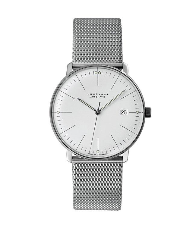 ユンハンス マックスビル Max Bill by Junghans Automatic オートマチック 腕時計 機械式 027 4002 44 M 安心の国内正規品 代引手数料無料 送料無料