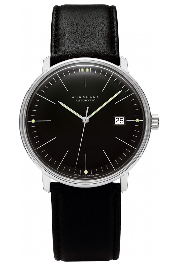 ユンハンス マックスビル Max Bill by Junghans Automatic オートマチック 腕時計 機械式 027 4701 00 安心の国内正規品 代引手数料無料 送料無料