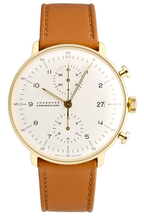 ユンハンス マックスビル Max Bill by Junghans Chronoscope クロノスコープ メンズ腕時計 クロノグラフ 機械式 027 7800 00 安心の国内正規品 代引手数料無料