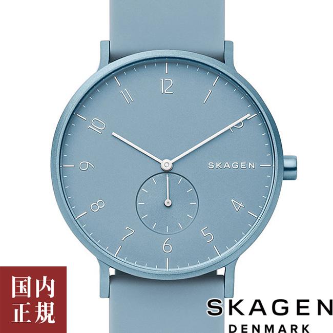 4/29~5/10 期間限定!スカーゲン 腕時計 メンズ レディース アーレン アルミニウム・シリコン 41mm ライトブルー SKAGEN AAREN SKW6509 安心の正規品 代引手数料無料 送料無料 あす楽 即納可能