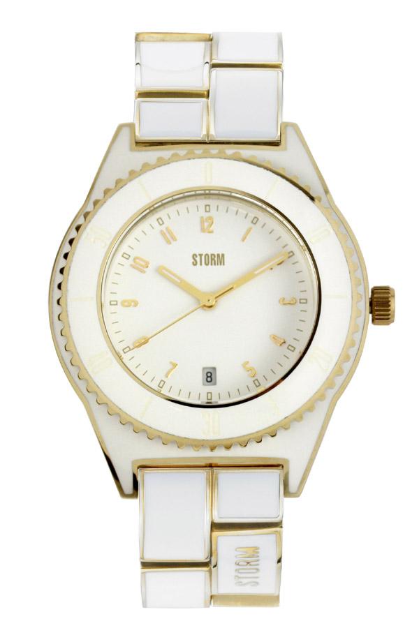 STORM(ストーム) KANTI(カンティ) レディース腕時計 WHITE×GOLD(ホワイト×ゴールド) 4533GD 安心の国内正規品 代引手数料無料 送料無料