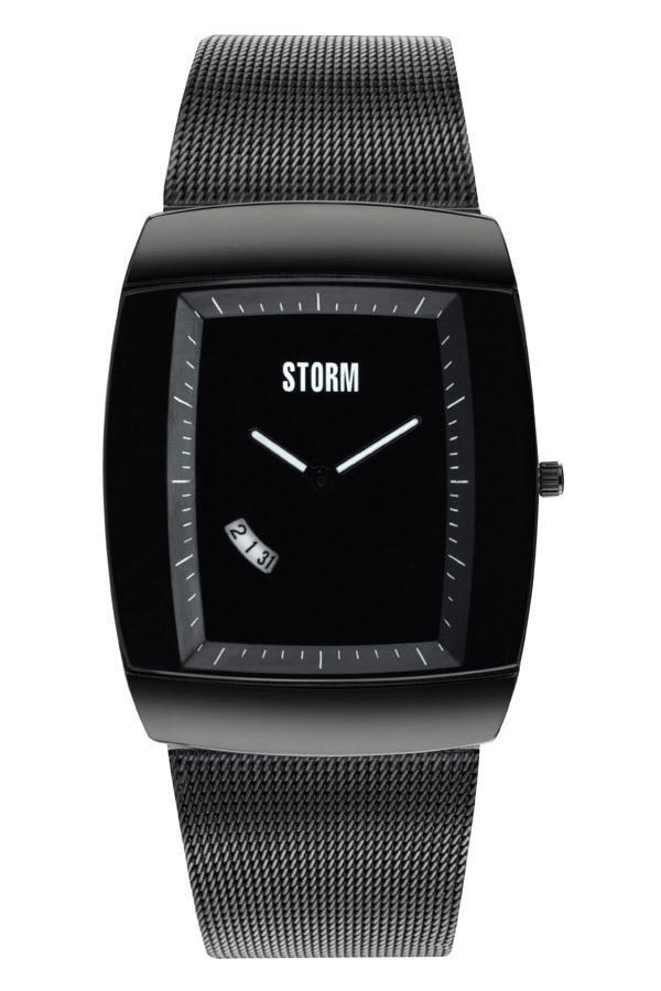 当店のお買い物マラソンはエントリーで更にポイント10倍!19日(土)1:59まで!STORM(ストーム) QASAR XL(カサール) メンズ腕時計 ALL BLACK(オールブラック) 4661SL 安心の国内正規品 代引手数料無料 送料無料