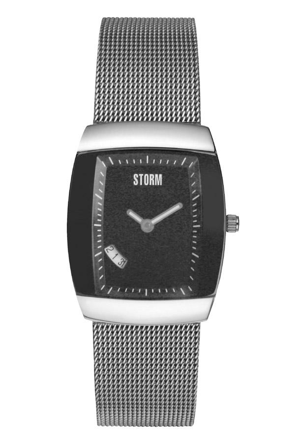 当店のお買い物マラソンはエントリーで更にポイント10倍!19日(土)1:59まで!STORM(ストーム) QASAR(カサール) レディース腕時計 BLACK(ブラック) 4676BK 安心の国内正規品 代引手数料無料 送料無料