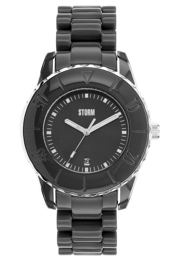 STORM(ストーム) NEW VESTA(ニューベスタ) レディース腕時計 BLACK×SILVER(ブラック×シルバー) 47027BK 安心の国内正規品 代引手数料無料 送料無料