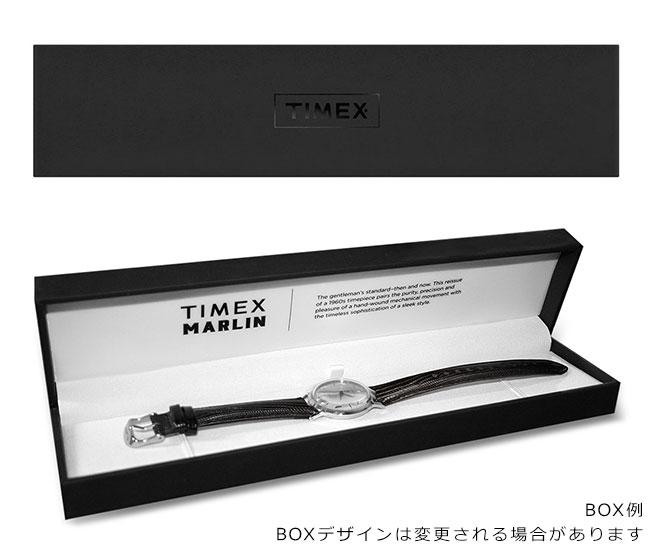 タイメックス 腕時計 メンズ レディース マーリン オートマチック 40mm レザー 自動巻き ネイビー TIMEX TW2T23100 安心の正規品 代引手数料無料