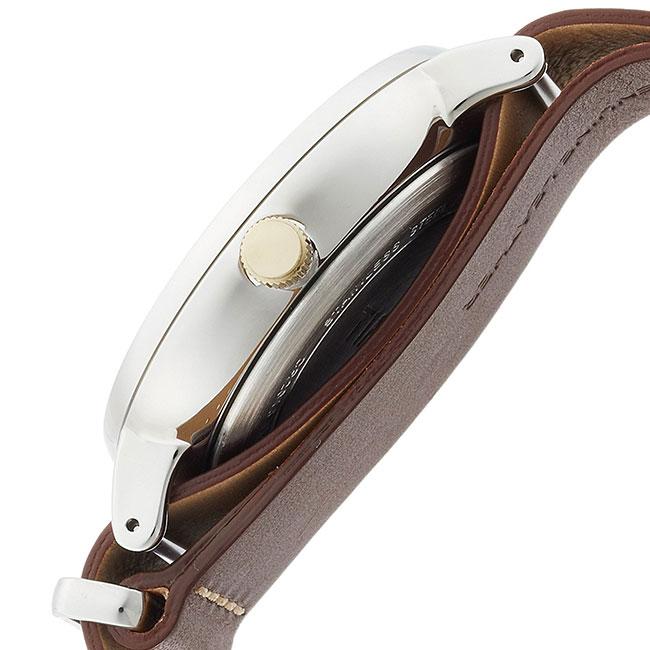 タイメックス 腕時計 メンズ レディース TIMEX サウスビュー 41mm レザーNATO ネイビー/シルバー/ダークブラウン TW2R28700 安心の正規品 代引手数料無料  あす楽 即納可能