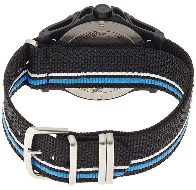 traser トレーサー 腕時計 MIL-G ブルー インフィニティ NATOストラップ ミリタリーウォッチ スイス製 Blue Infinity 9031563 安心の正規品 代引手数料無料