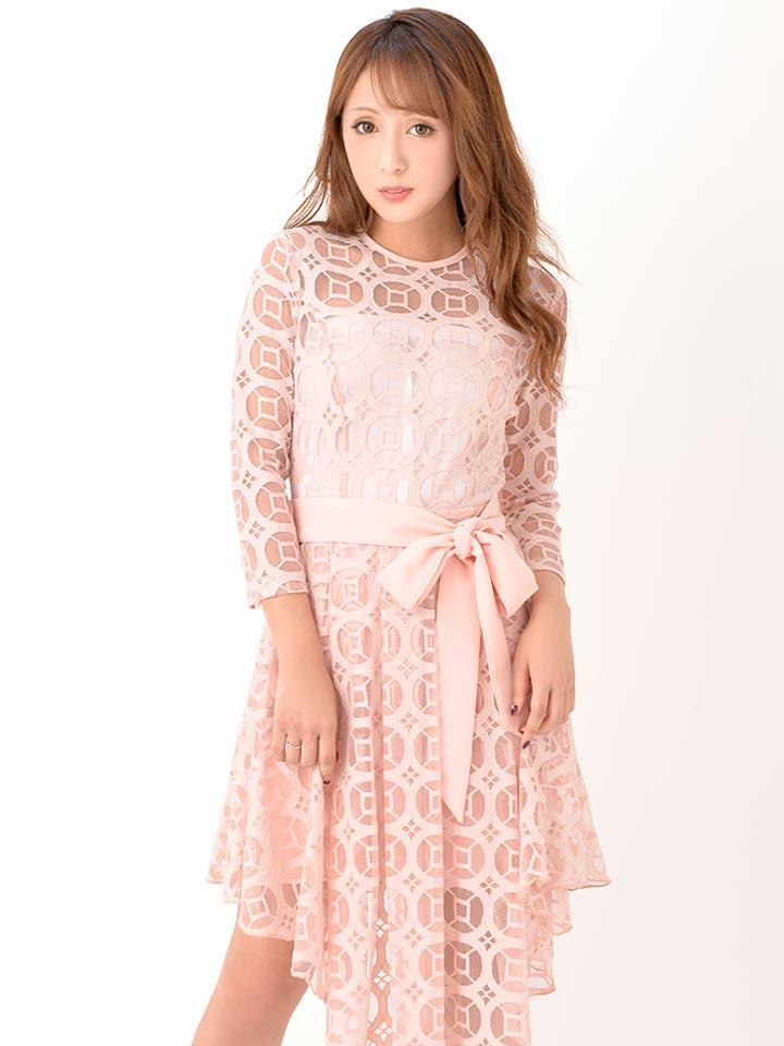 d4ed7961ad2b0 ... 送料無料ドレスキャバドレスナイトドレス大きいサイズ SMLサイズ リボンベルト付き ...