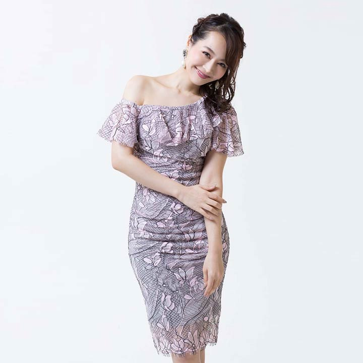 2311f1521a66b ... 送料無料キャバドレスキャバドレスナイトドレス大きいサイズ Alice  52763  ...