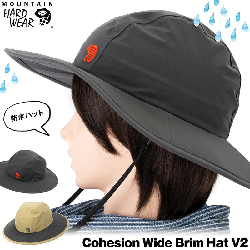 MOUNTAIN HARDWEAR / マウンテンハードウェア コヒージョンワイドブリムハット V.2/ Cohesion Wide Brim Hat V2(帽子,男性,女性) ポイント10倍