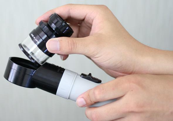 放大镜放大镜规模峰值 (PEAK) 的缩放比例 Lupe 10-20 × 0.1 m m 内存检验调查规模 Lupe 规模东海工业放大镜