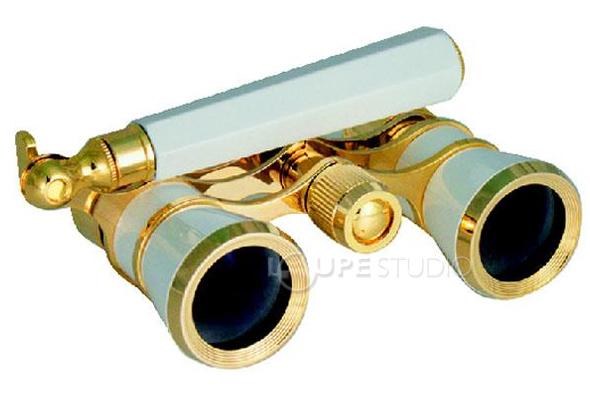 观剧镜模式 SAFARI TASCO 3 x 25 毫米歌剧眼镜音乐会双筒望远镜纸箱歌剧光学玻璃