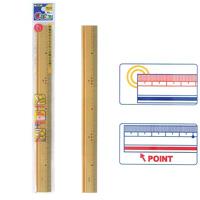 竹码尺尺 30 厘米岩屑儿童 G 朋友,竹测量 30 厘米的儿童文具