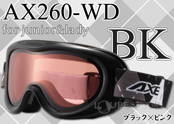ce3bfa328ba Goggles goggles junior double lens spectacles for defogger  14-15 catalog  model  AXE skiing snowboard snowboarding  snowboarding  AX260-WD  women s   women s ...