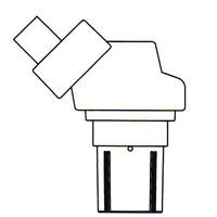 顕微鏡 双眼 実体顕微鏡 [ヘッド] NSW-1 10倍 カートン 固定・変倍式