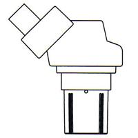 顕微鏡 双眼 実体顕微鏡 [ヘッド] NSW-2 20倍 カートン 固定・変倍式