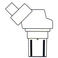 顕微鏡 双眼 実体顕微鏡 [ヘッド] NSW-30 10倍30倍 カートン 固定・変倍式