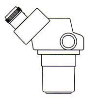 顕微鏡 双眼 実体顕微鏡 [ヘッド] DSZ-44 10倍~44倍 カートン ズーム式