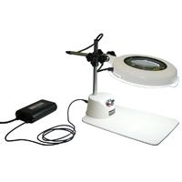 LED照明拡大鏡 調光付 LSK-B 2倍 オーツカ 拡大鏡 LED照明拡大鏡 検査 ルーペ 拡大 精密検査