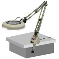 LED照明拡大鏡 調光付 LSK-F 3倍 オーツカ 拡大鏡 LED照明拡大鏡 検査 ルーペ 拡大 精密検査 作業