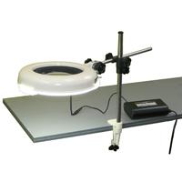 LED照明拡大鏡 調光なし LSKs-ST 4倍 オーツカ 拡大鏡 LED照明拡大鏡 検査 ルーペ 拡大 精密検査 精密作業