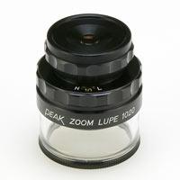 虫眼鏡 スケールルーペ ピーク(PEAK) ズーム スケール ルーペ 10-20倍 0.1mmメモリ 検品 検査 測量 スケール付きルーペ スケール 東海産業