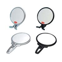 メール便可 卓上ミラー 拡大鏡 スタンドミラー 卓上 ナピュアミラー 鏡 かがみ カガミ ミラー ルームミラー 鏡面 リアルズームアップ 拡大ミラー メイク 卓上鏡 プラス RH-05 堀内鏡工業 5倍 スタンドハンド 化粧鏡 使い勝手の良い 新作製品 世界最高品質人気 老眼 両面