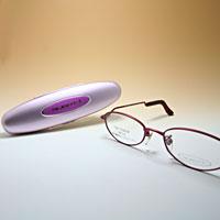 シニアグラス カンダオプティカル スライト2 バーカンディー 老眼鏡 強度 女性 おしゃれ
