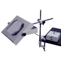 照明拡大鏡 ロングアーム式 WIDE-3 [2倍] オーツカ光学 拡大鏡 照明拡大鏡 ルーペ 検査