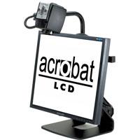 据え置き型拡大読書器 Acrobat LCD [アクロバットLCD] 大画面19インチ 最大68倍ズーム 読書 アクロバットLCD 置き型拡大読書器 拡大読書器 デジタル ルーペ