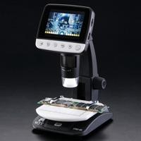 デジタル顕微鏡 LCDデジタルマイクロスコープ DIM-03 アルファーミラージュ TV出力対応 4~40倍 マイクロスコープ USB 顕微鏡 モニター 画像 動画 撮影