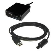 エヌエスライティング USB LED照明 コントローラーセット 8φスポット USB LED照明セット[同軸落射専用] LCP-8/14W3-USB501SET