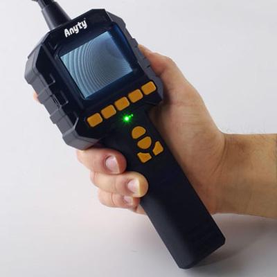 内視鏡 工業用 フレキシブルスコープ 9φ×5m 工業用内視鏡 3R-FXS050-95 防水仕様 静止画 動画 内視鏡カメラ 狭い 暗い 水回り